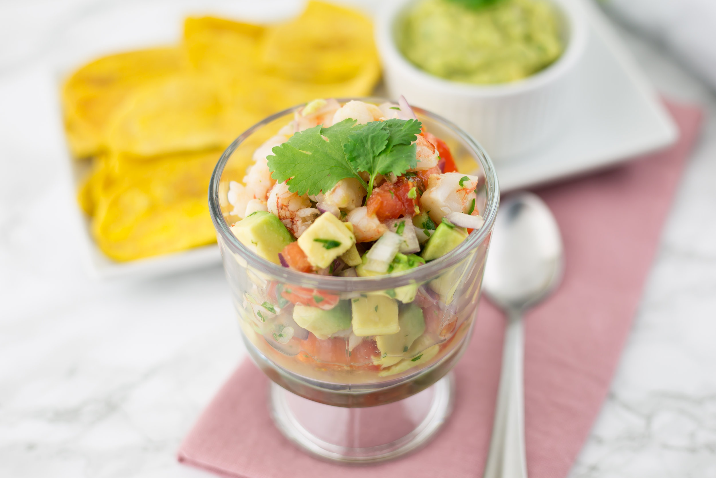 21 Day Sugar Detox Recipes, Shrimp, Shrimp Ceviche, Plantains, Plantain Chips, Real Food, Non-processed, Whole30, 21DSD, Primal, Paleo, Gluten Free, Grain Free, Dairy Free