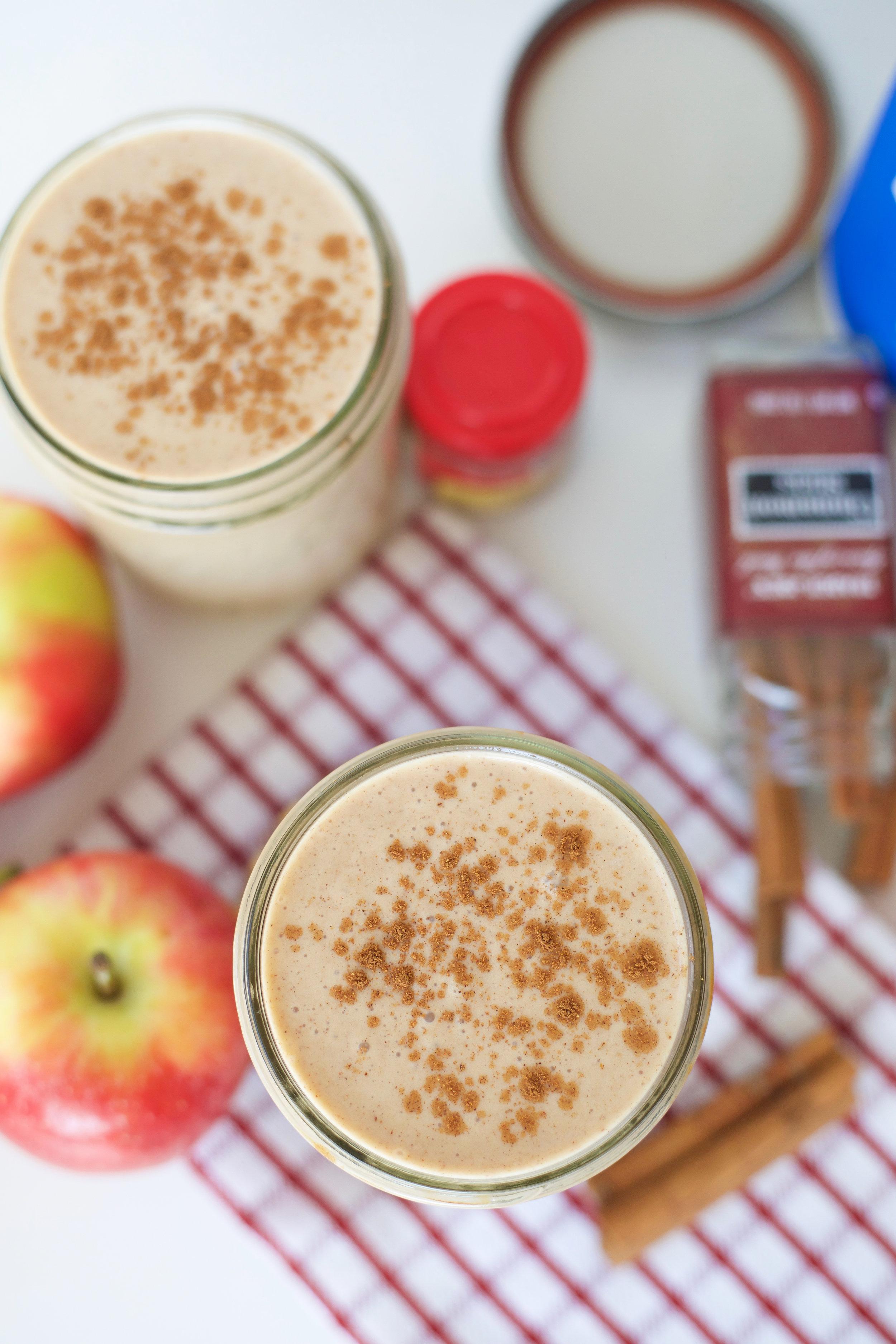 apple pie smoothie, apple pie, paleo, grain free, gluten free, dairy free, primal, real food, smoothies, healthy smoothies