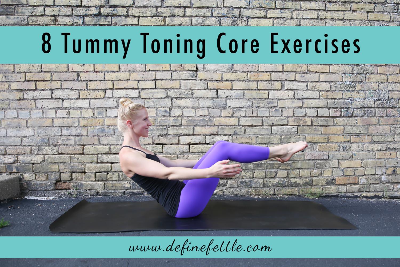 8 tummy toning core exercises, define fettle, workout, exercises, core workout, home workout,