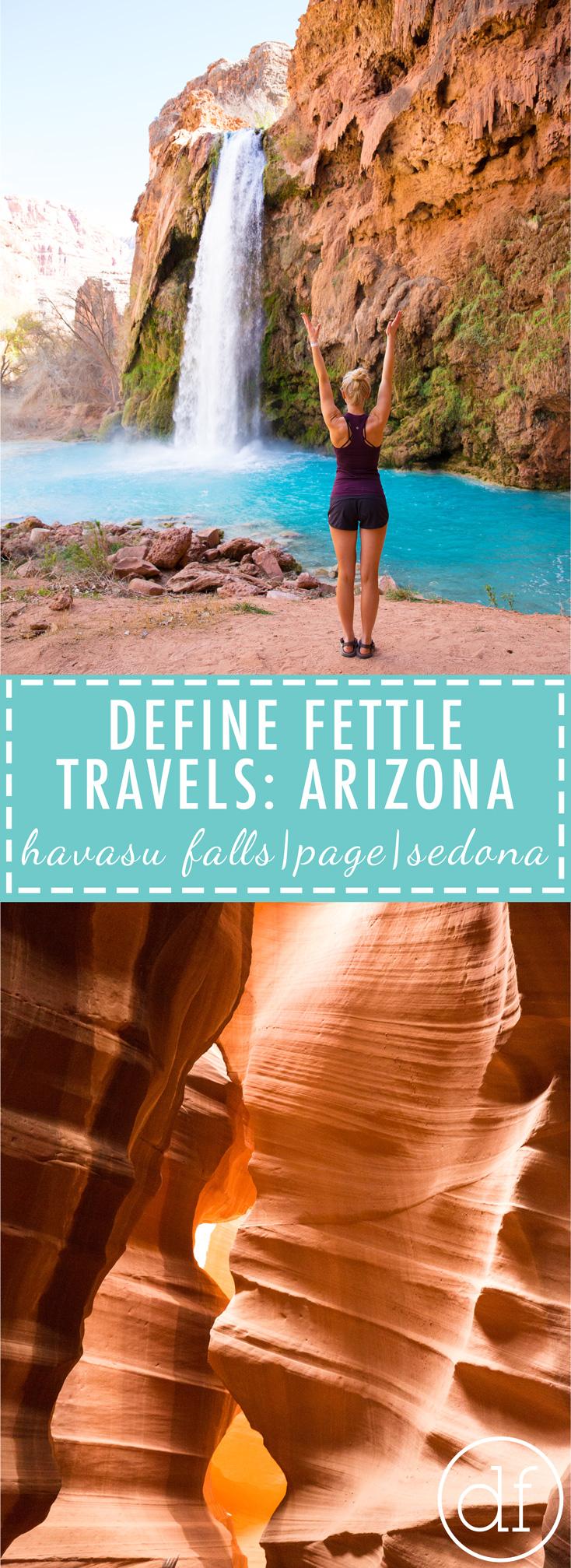 Travel Arizona, Explore Arizona, Havasu Falls, Antelope Canyon, Horseshoe Bend, Grand Canyon, Sedona, Sedona Proposal, Define Fettle, Define Fettle Travels