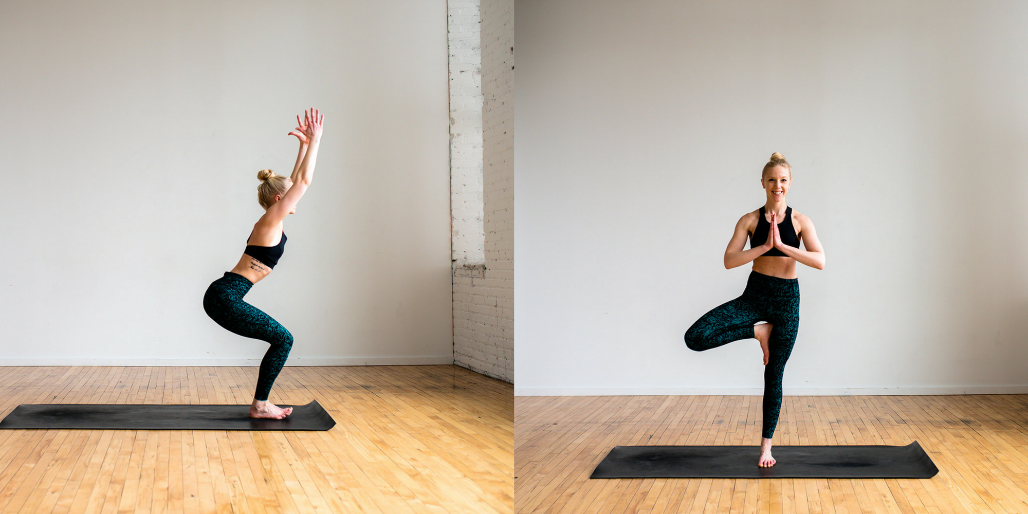 Define Fettle, Chair Pose, Tree Pose, Yoga, Yes You Can, Home Yoga, Beginner Yoga,