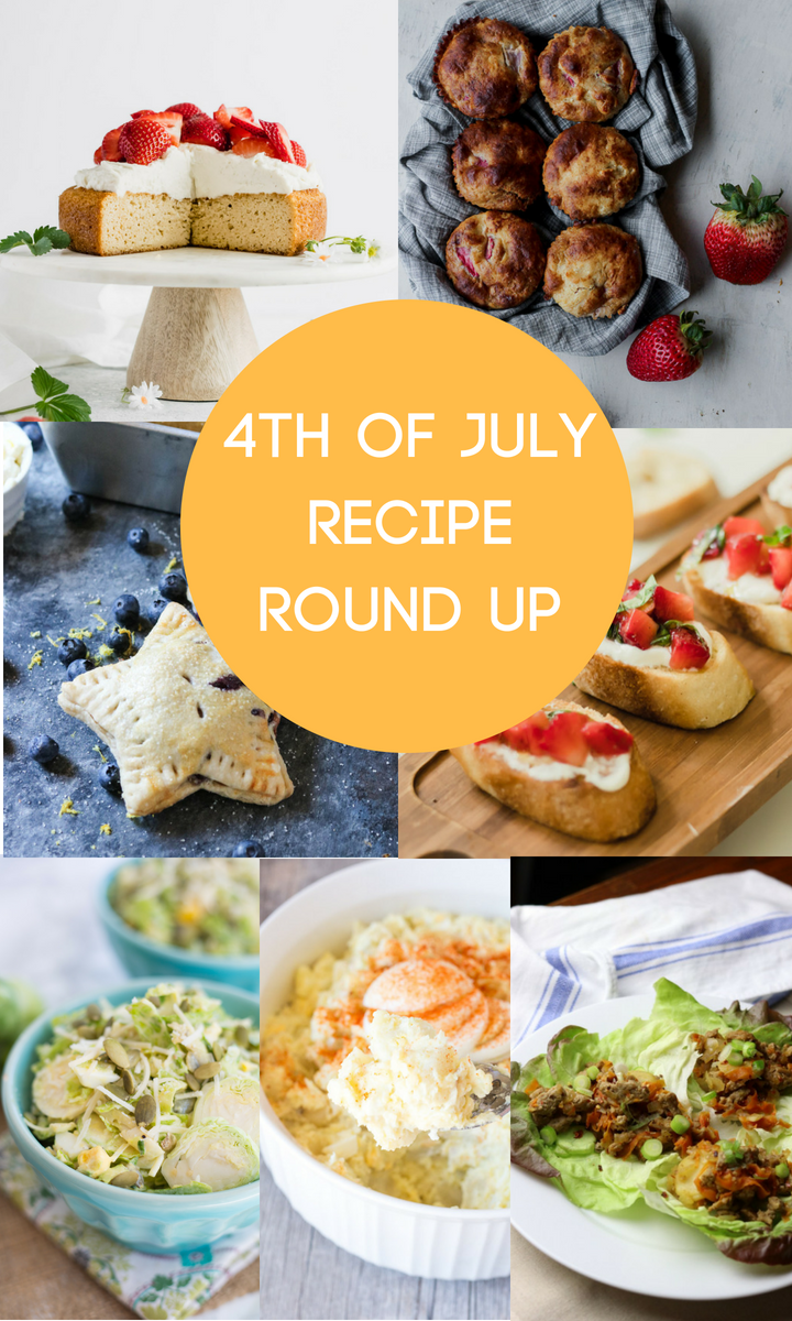 4th of July Recipes, Recipe Roundup, Healthy 4th Of July Recipes, Grain Free, Gluten Free, Healthy, Eat Healthy, Define Fettle