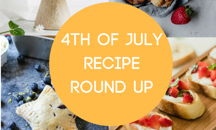 Recipe Round Up, Food Bloggers, Healthy 4th of July, Healthy Eats,