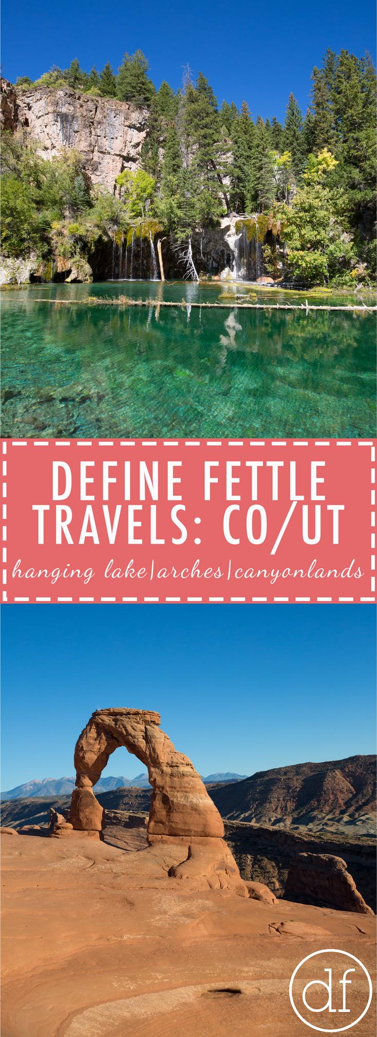 Hanging Lake, Colorado, Travel Blog, Arches National Park, Canyonlands National Park, Blogger, Best Spots At Arches National Park, Hiking Arches, Canyonlands, Outdoors, Define Fettle,