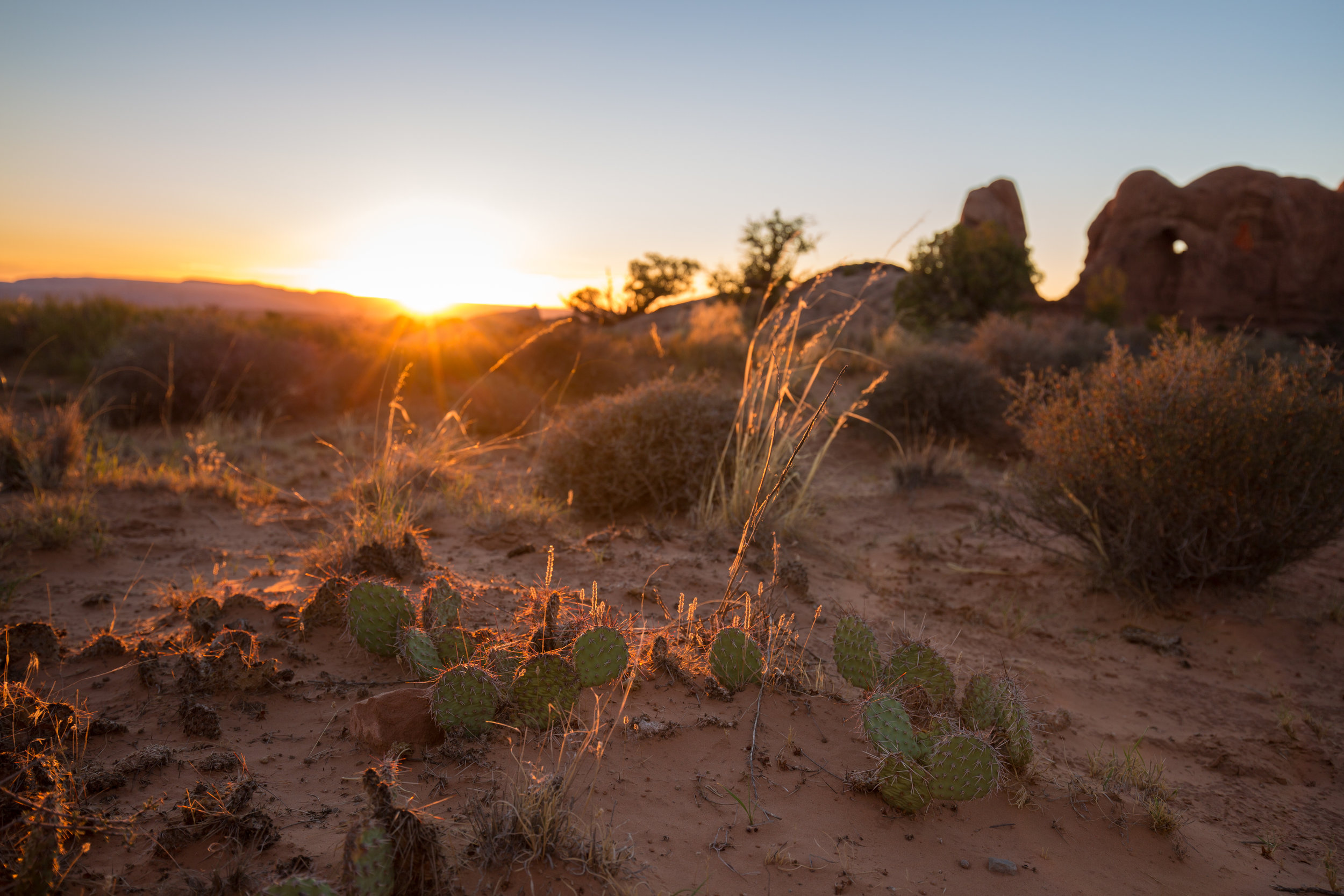 Sunset, Arches, Arches National Park, Red Rock, Utah, National Park, Travel, Get Outside, Adventure, Opt Outside, Define Fettle Travels