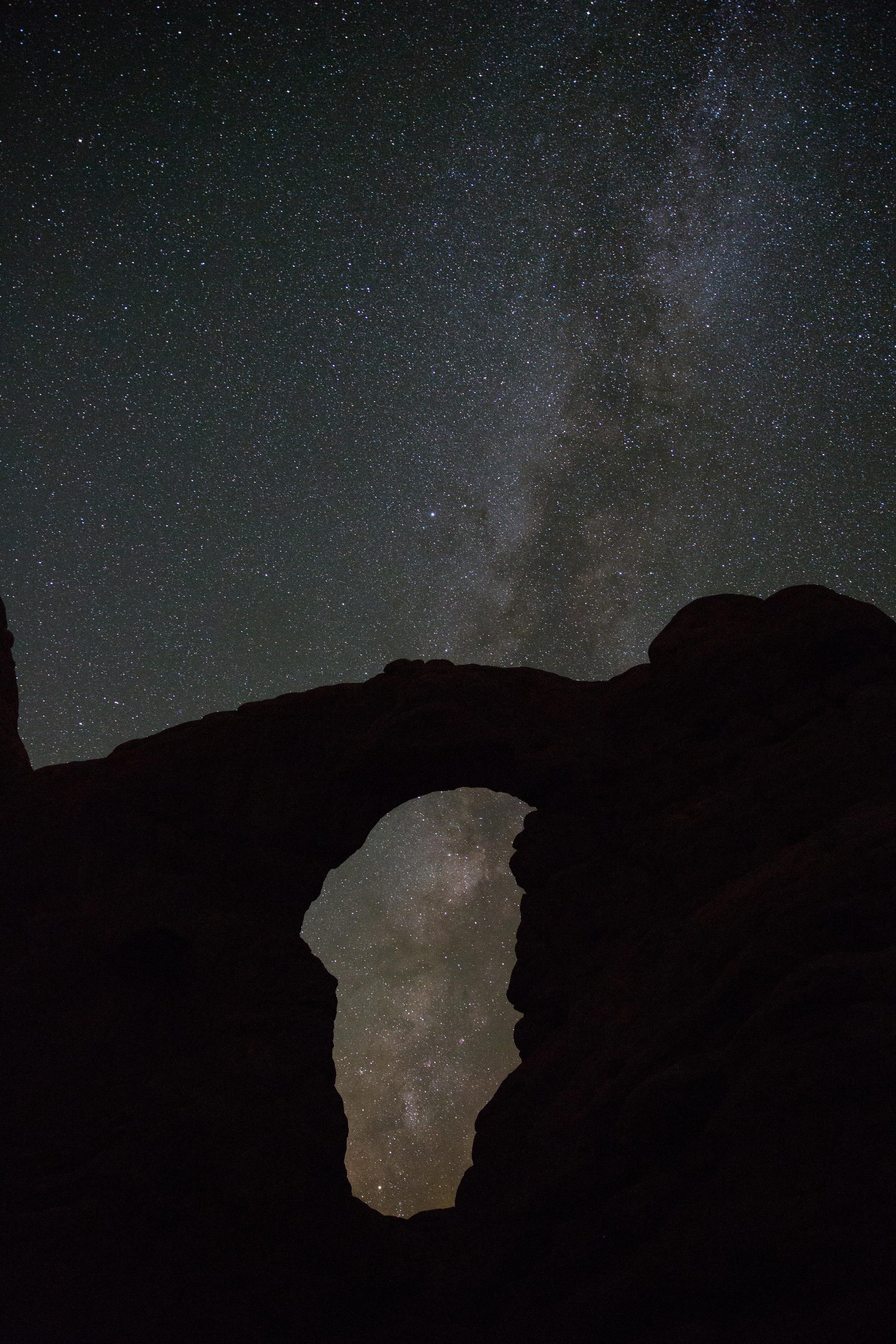 Astrophotography, Photography, Night Photography, Turret Arch, Turret At Night, Galaxy, Milky Way, Adventure, Define Fettle,
