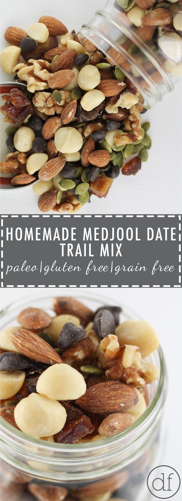 Homemade Trail Mix, Trail Mix, Gluten Free, Grain Free, Dairy Free, Paleo, Paleo Trail Mix, Define Fettle