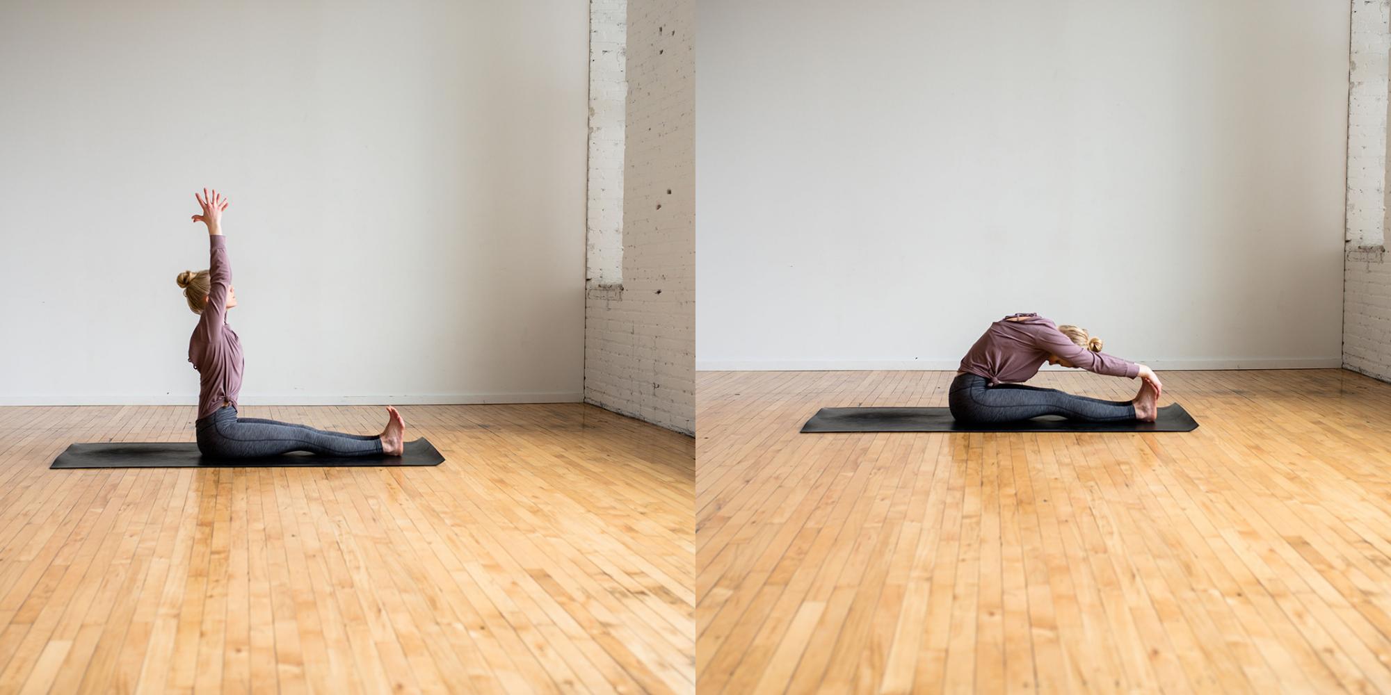 Forward Fold, Bedtime Yoga, Bedtime Yoga Routine, Beginner Yoga, Define Fettle