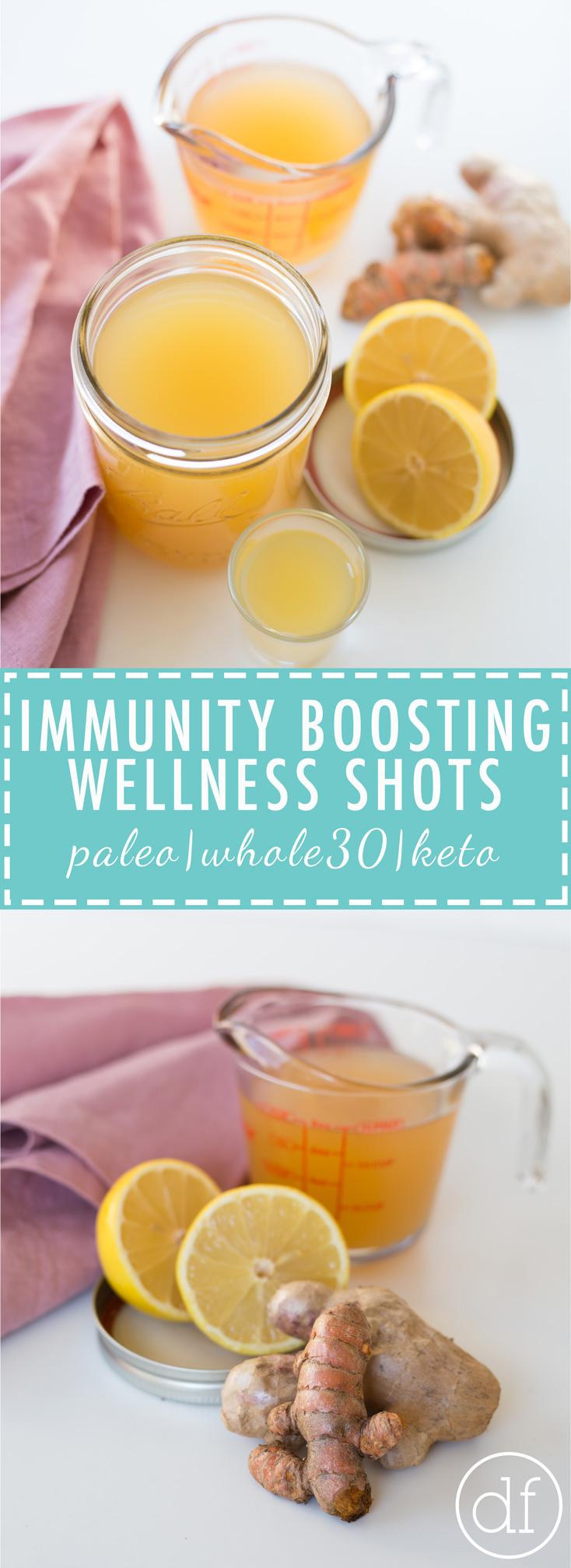 Immunity Boosting Wellness Shots, Immunity Boosting, Wellness Shots, Anti Inflammatory, Turmeric Shots, Apple Cider Vinegar, Define Fettle