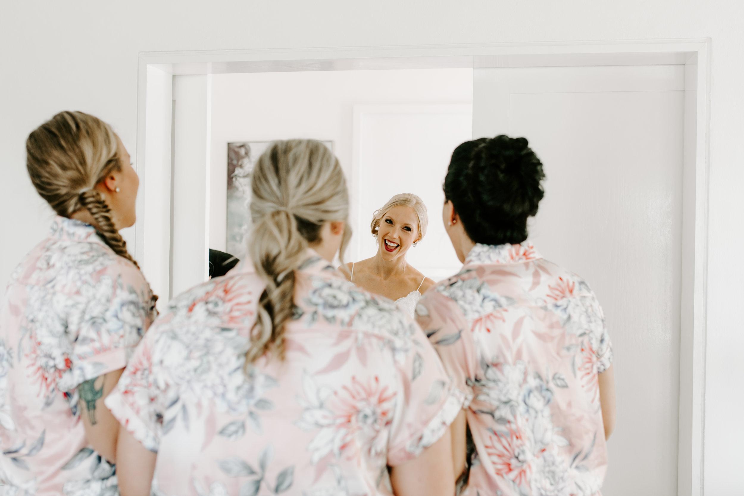 bridesmaids, destination wedding, first look, beach wedding, jamaican wedding, define fettle, jamaica wedding recap