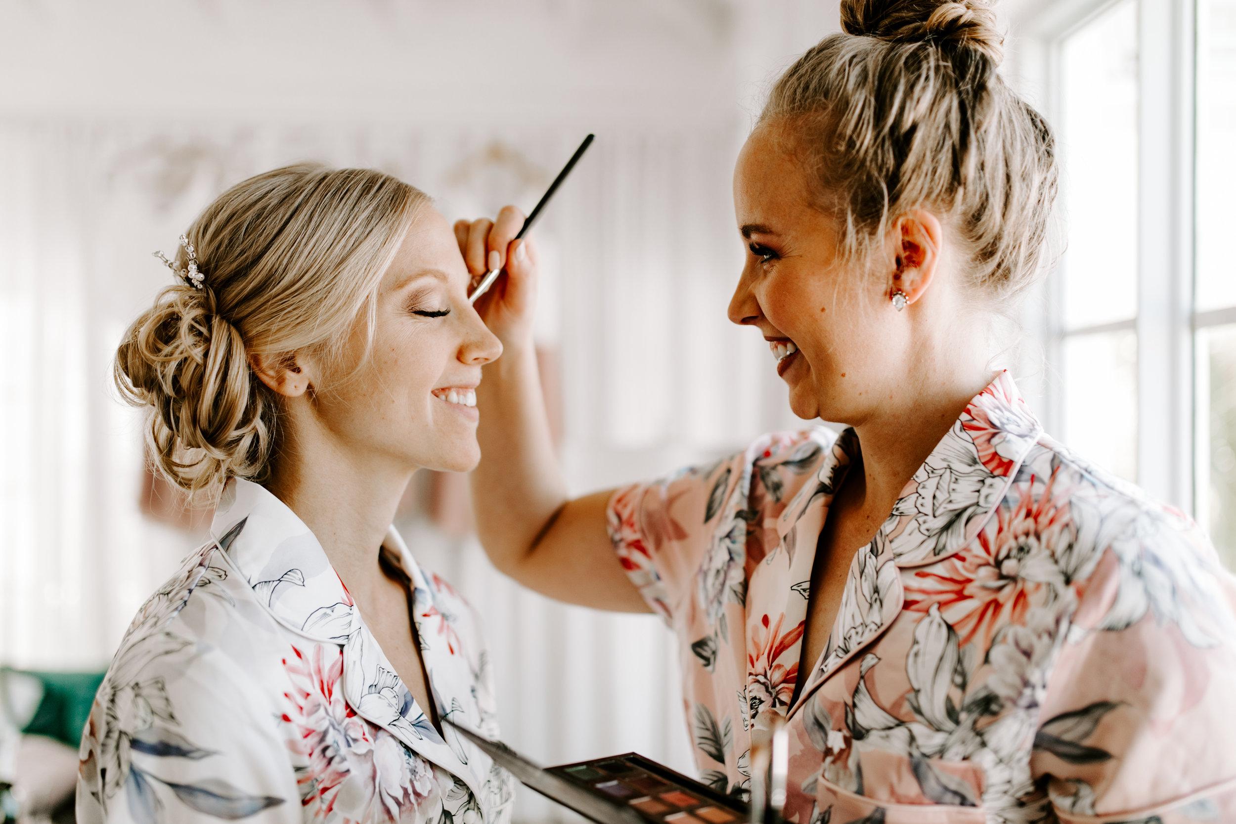 wedding makeup, makeup artist, wedding day, bride, destination wedding, beach wedding, jamaica wedding, getting ready, define fettle