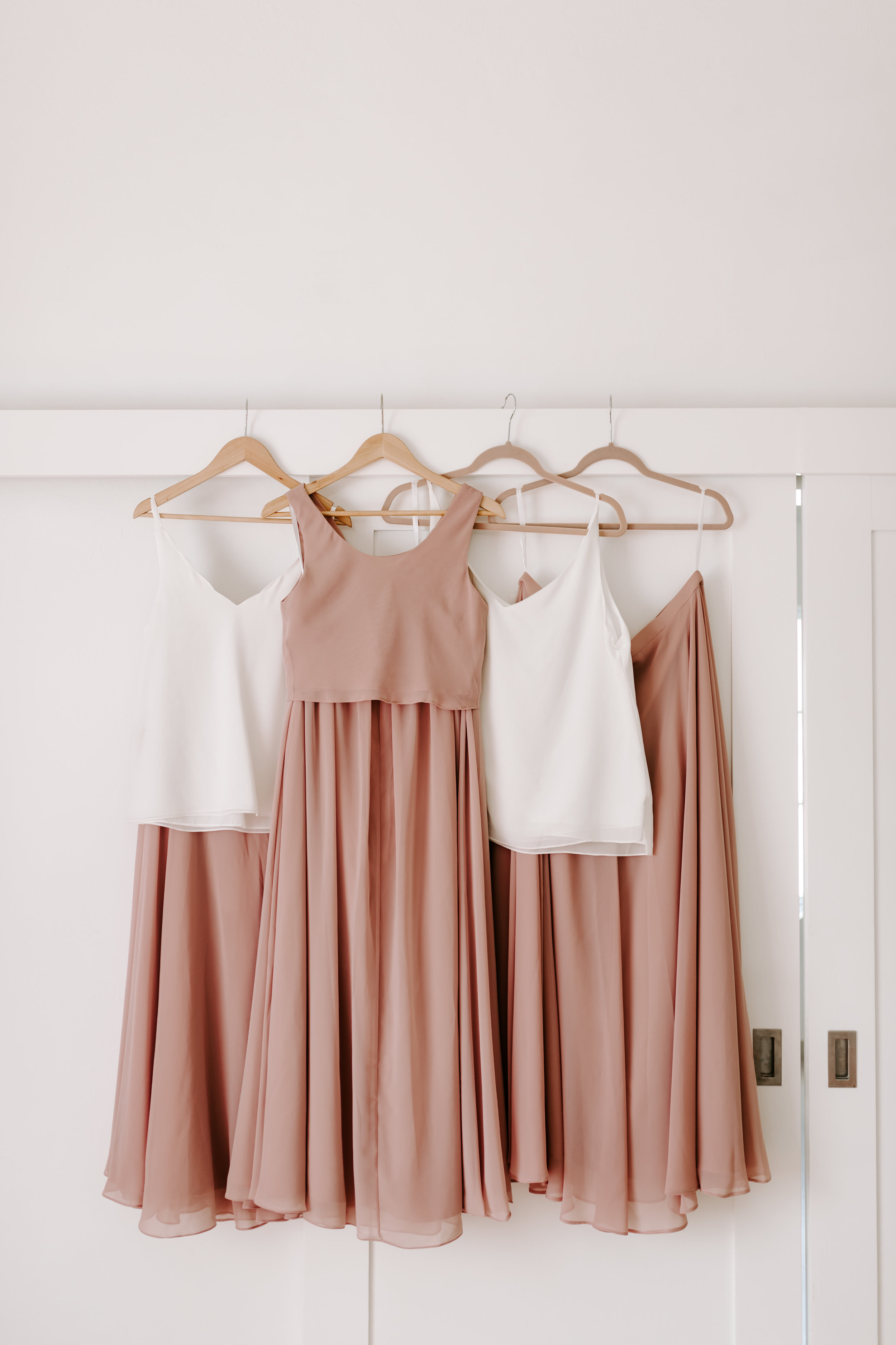 revelry, bridesmaids, 2 piece sets, 2 piece bridesmaids dresses, beach wedding, destination wedding, jamaica wedding recap