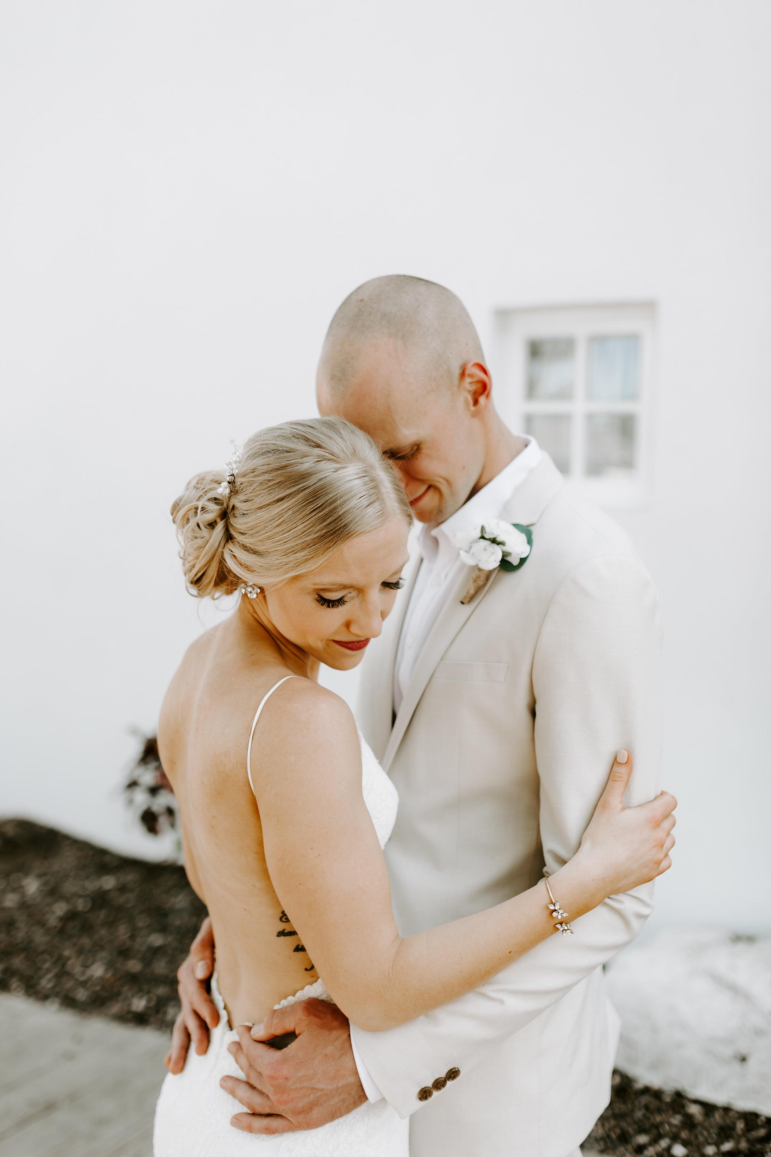 backless wedding dress, katie may, katie may bridal, beach wedding destination wedding, jamaica wedding, bride and groom, wedding day, beach bride, define fettle
