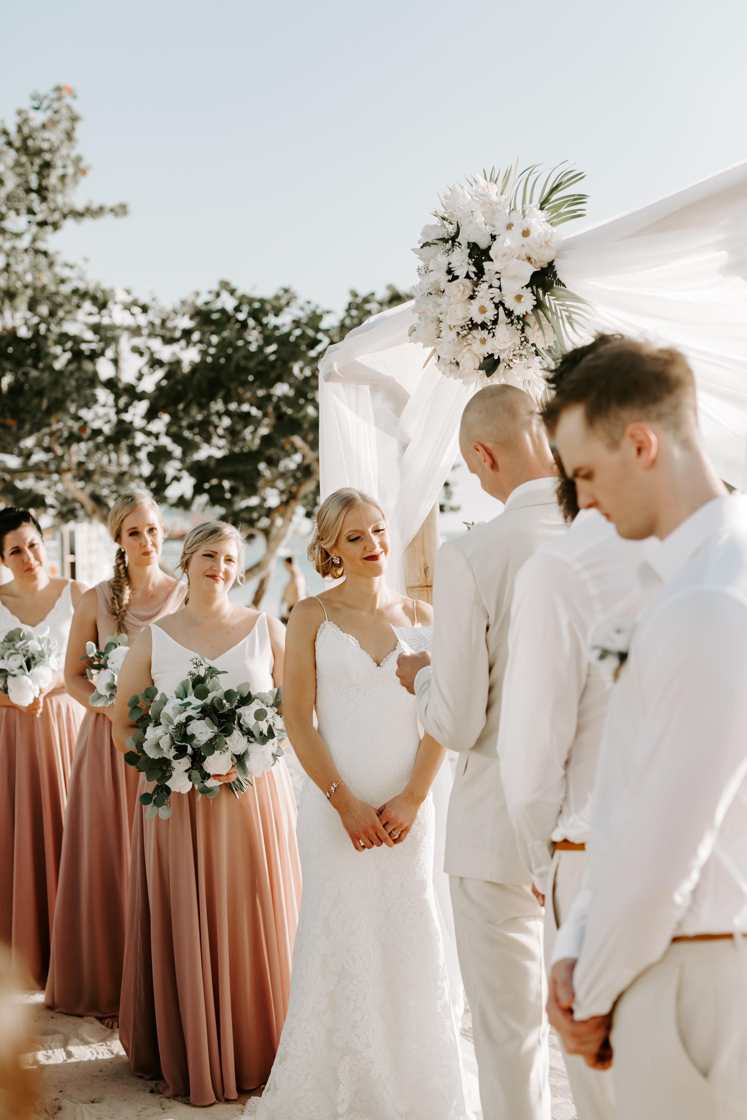 wedding vows, wedding ceremony, beach wedding ceremony, beach bride, wedding day, destination wedding, beach wedding, jamaican wedding, define fettle