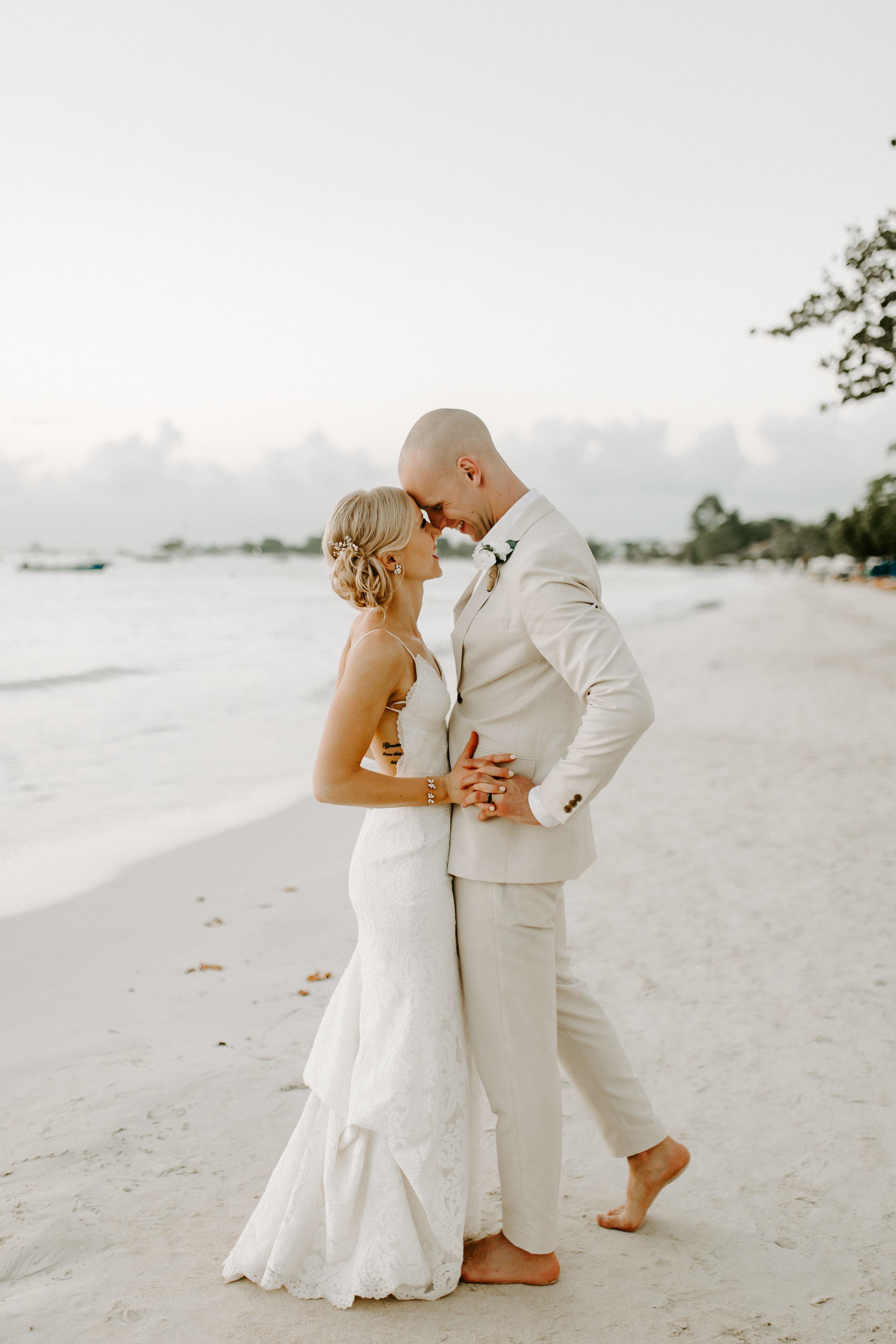 destination wedding, beach wedding, jamaican wedding, jamaica wedding, beach bride, backless dress, backless wedding dress, define fettle
