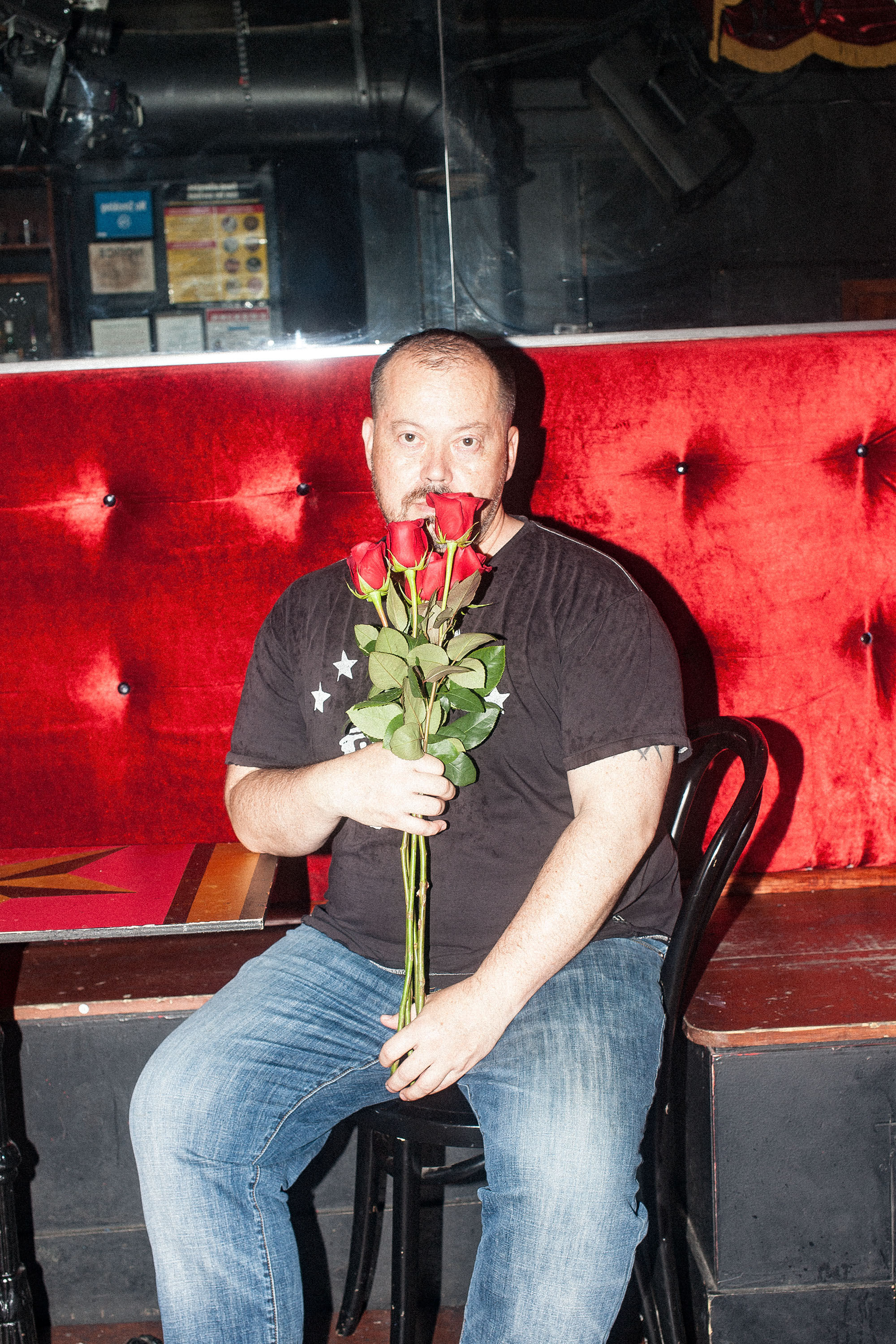 Author Alexander Chee photographed by Sean Santiago at  Club Cumming .
