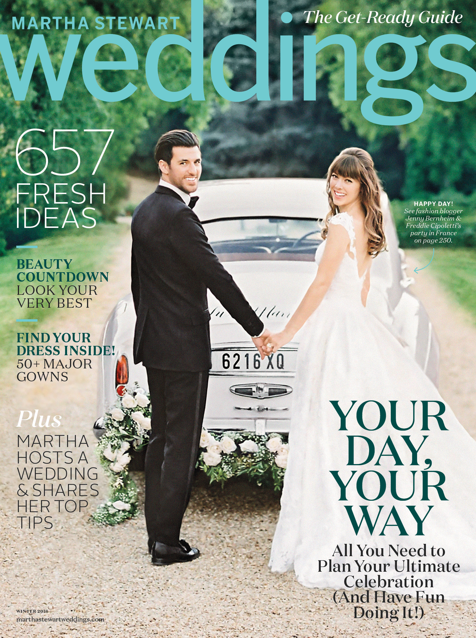 Martha Stewart Weddings: Winter 2016