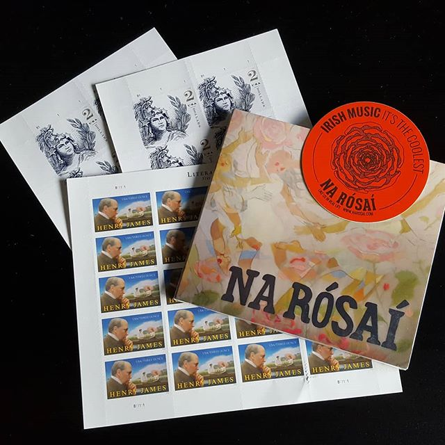 Fresh Postage!! Buy a CD on www.narosai.com and you'll have these slick stamps on your envelope!