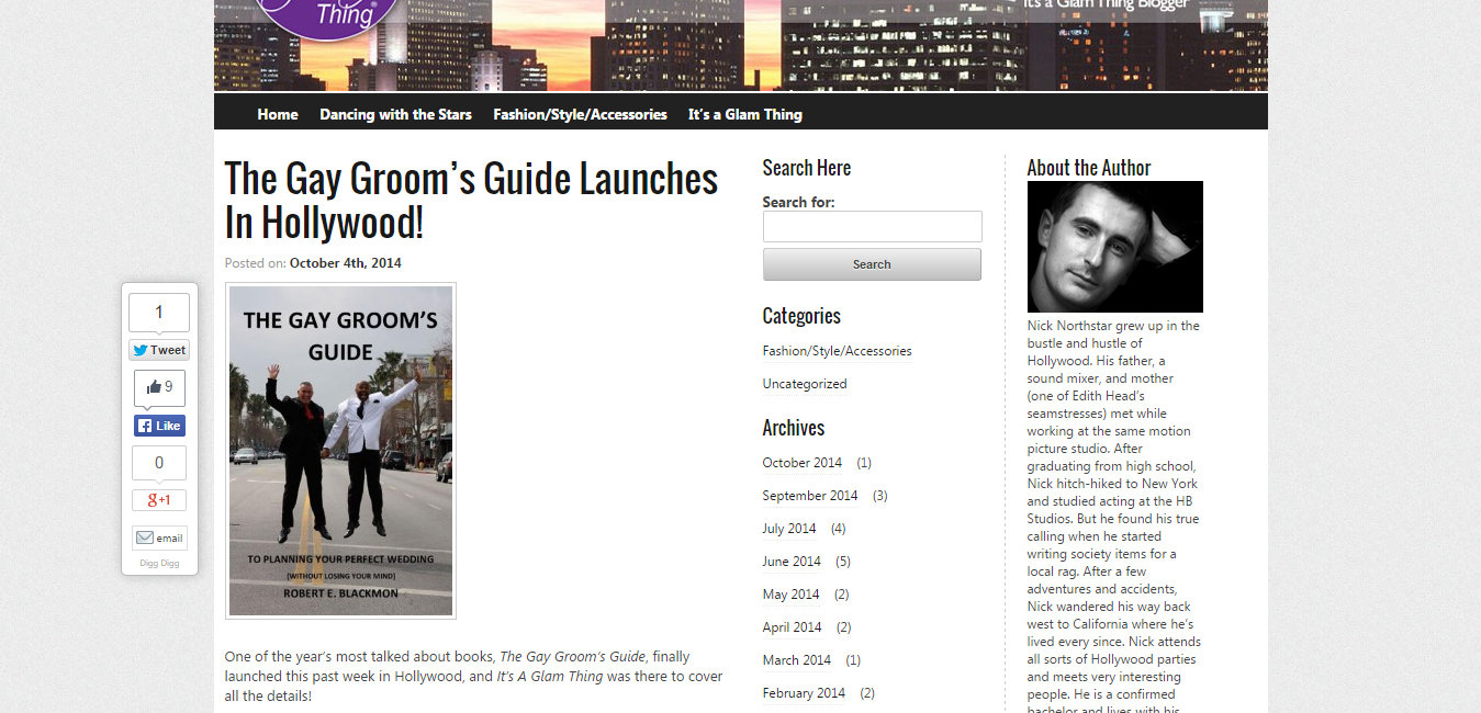 The Gay Groom's Guide Launches In Hollywood    Nick Northstar s Blog.png
