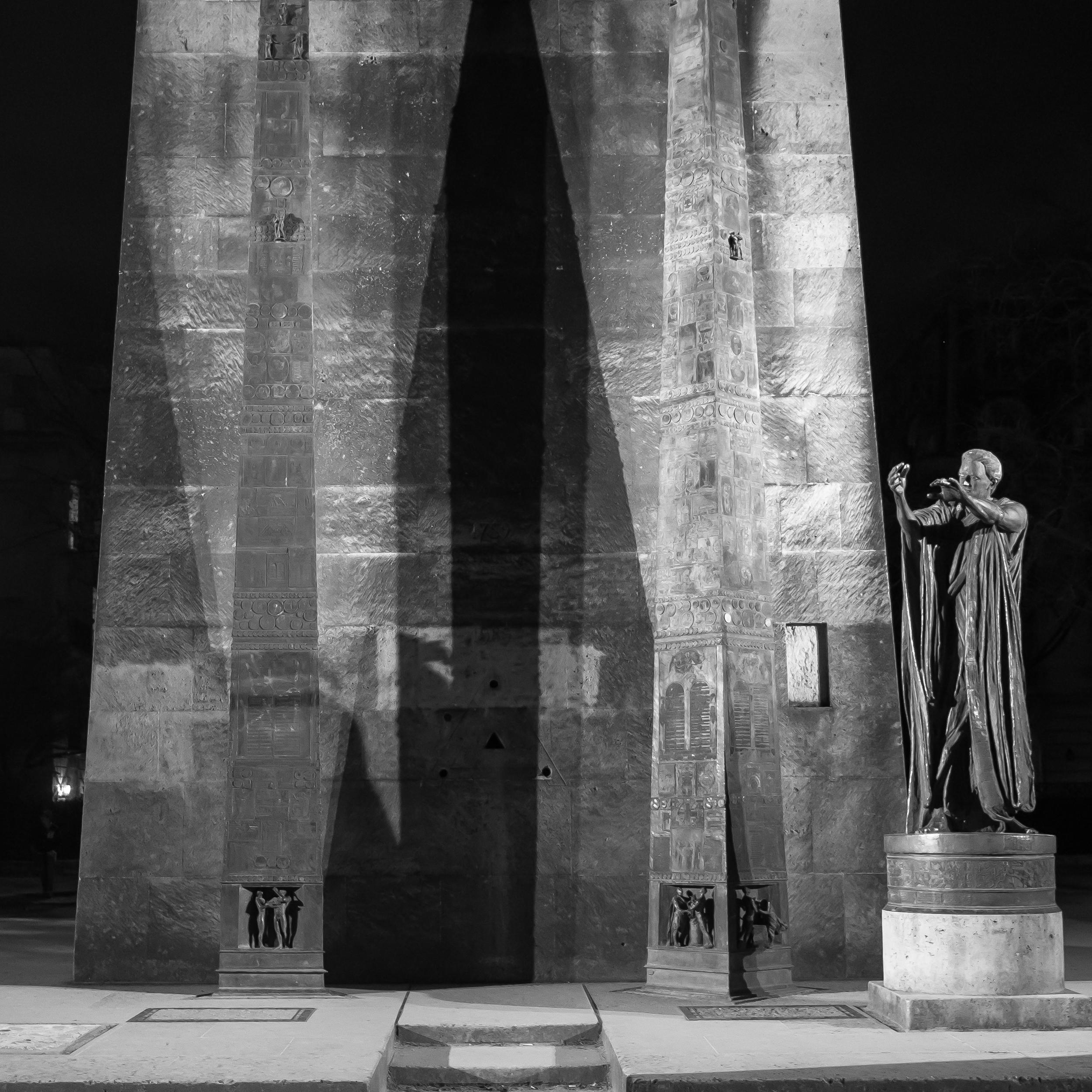 Monument des Droits de l'Homme (Human Rights)
