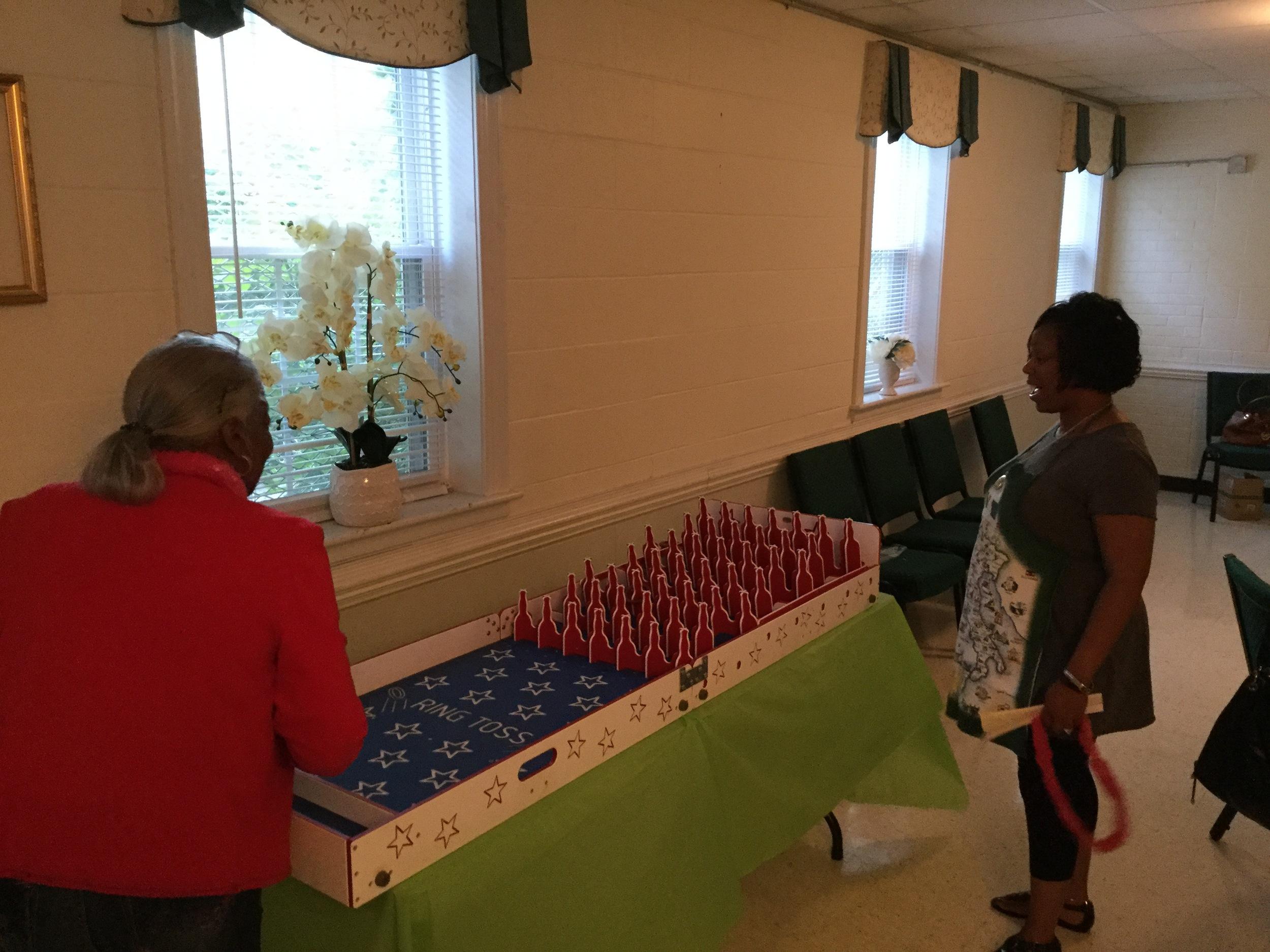 Seasoned Seniors Game Night