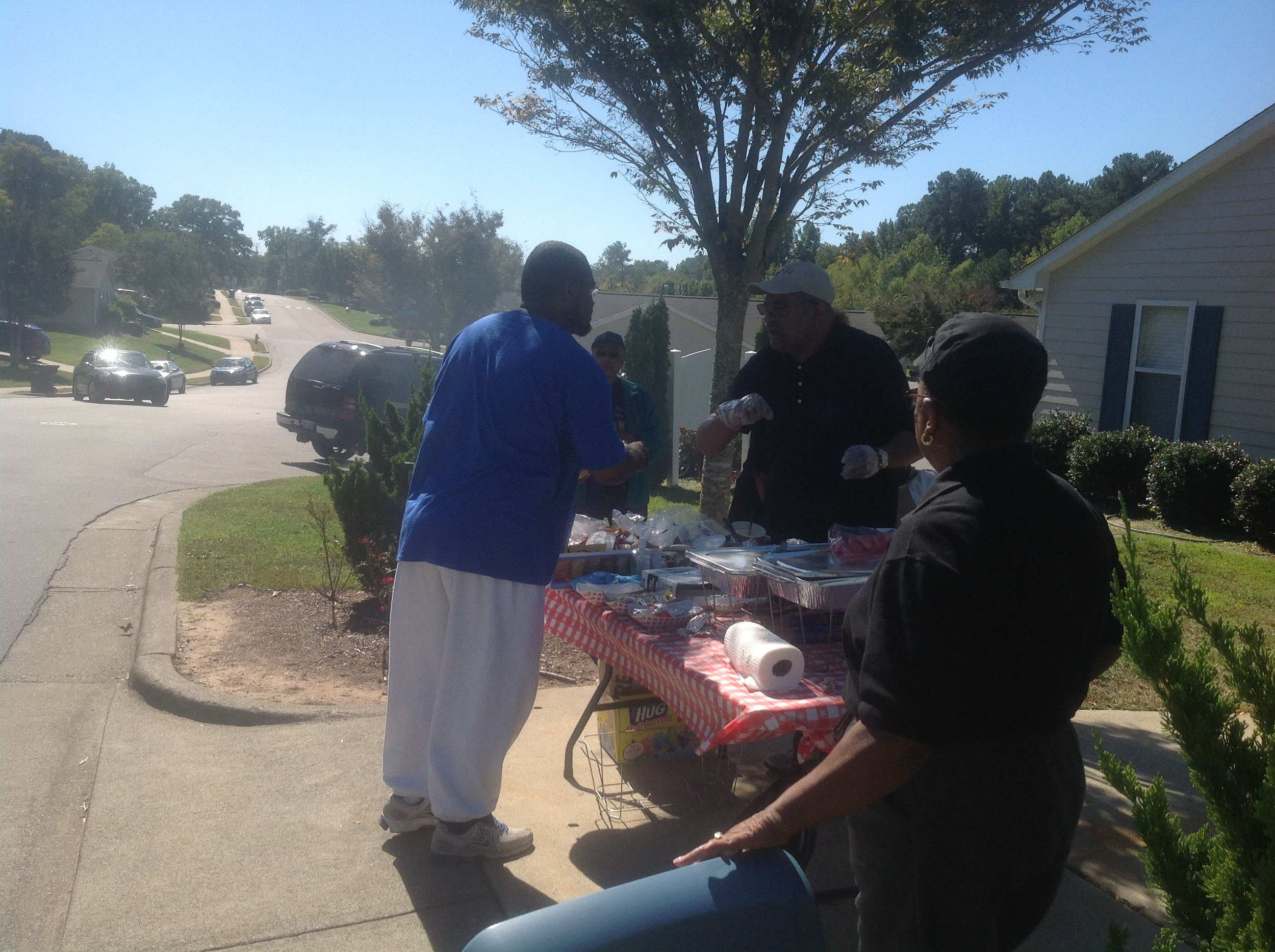 Evangelistic Outreach in Cambridge Village Community