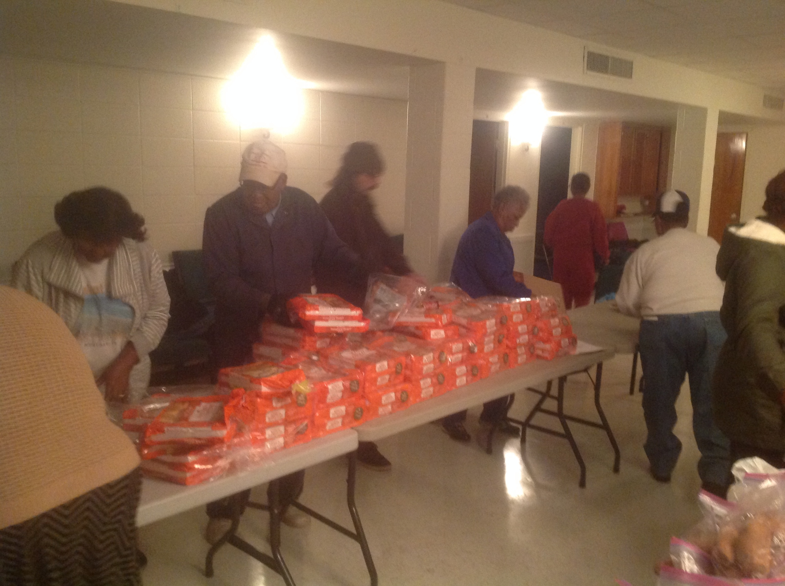 Thanksgiving Mission to 180 Families