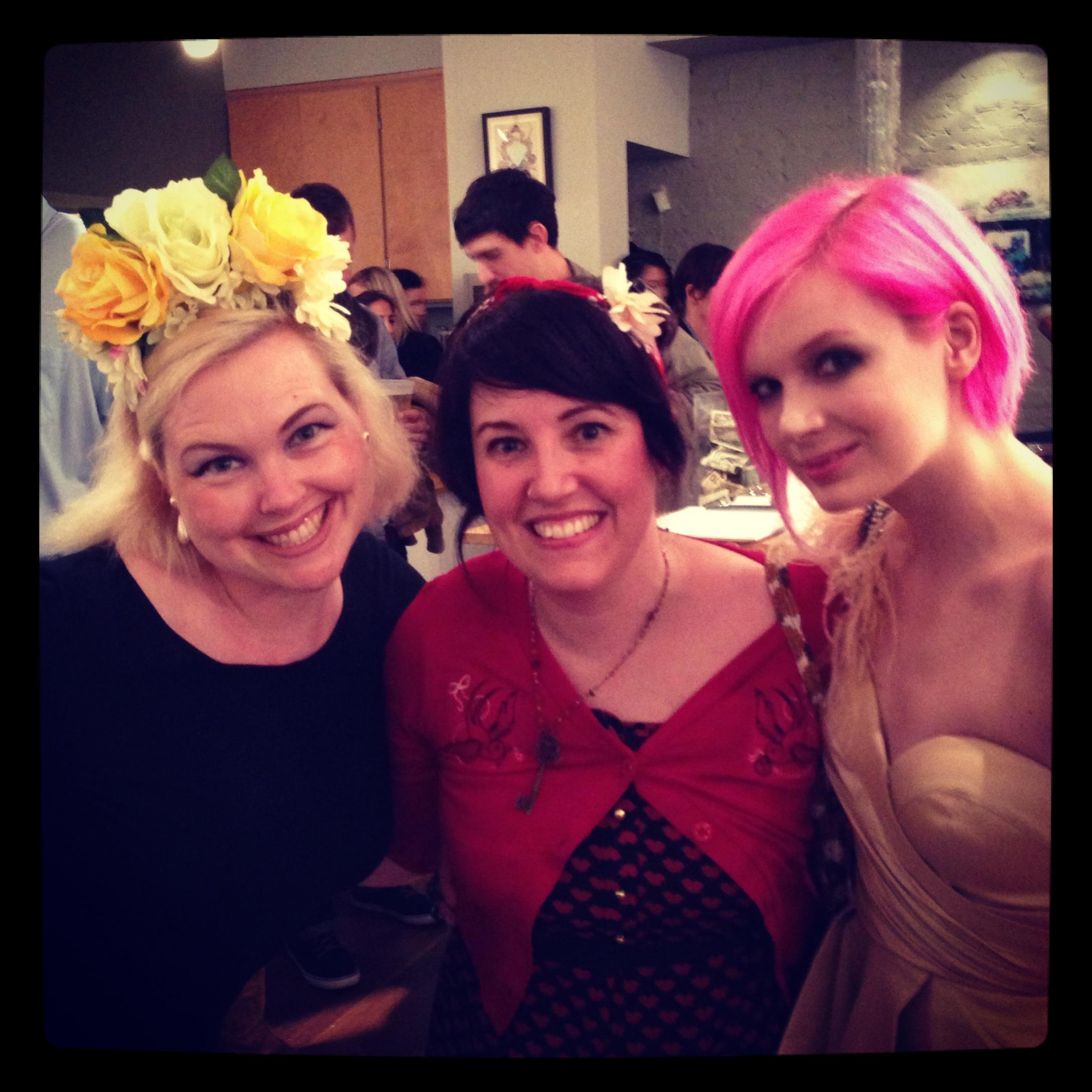 With  Daisy Church  &  Redd Walitzki   at Modern Eden