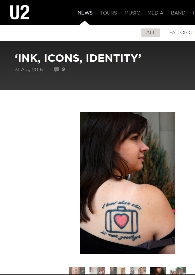 U2.com, the band's official website