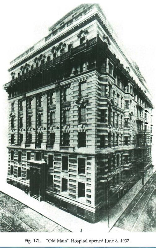 Old Main Hospital, 1907