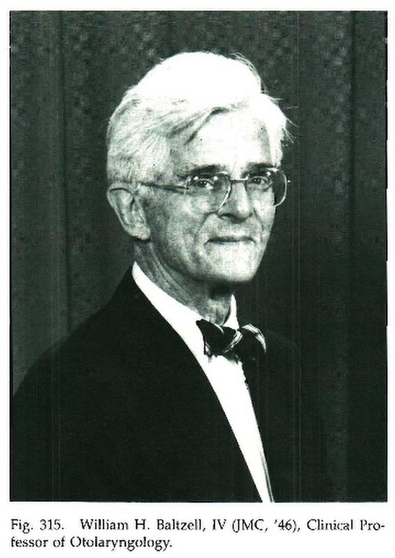 """William H. """"Pete"""" Baltzell, IV (JMC '46)"""