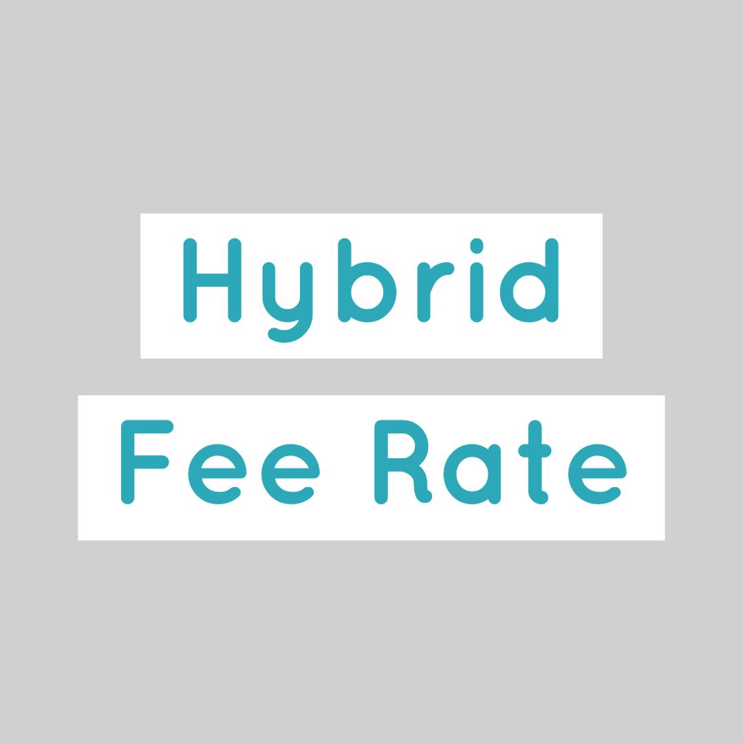 Lawyer Attorney Hybrid Fees