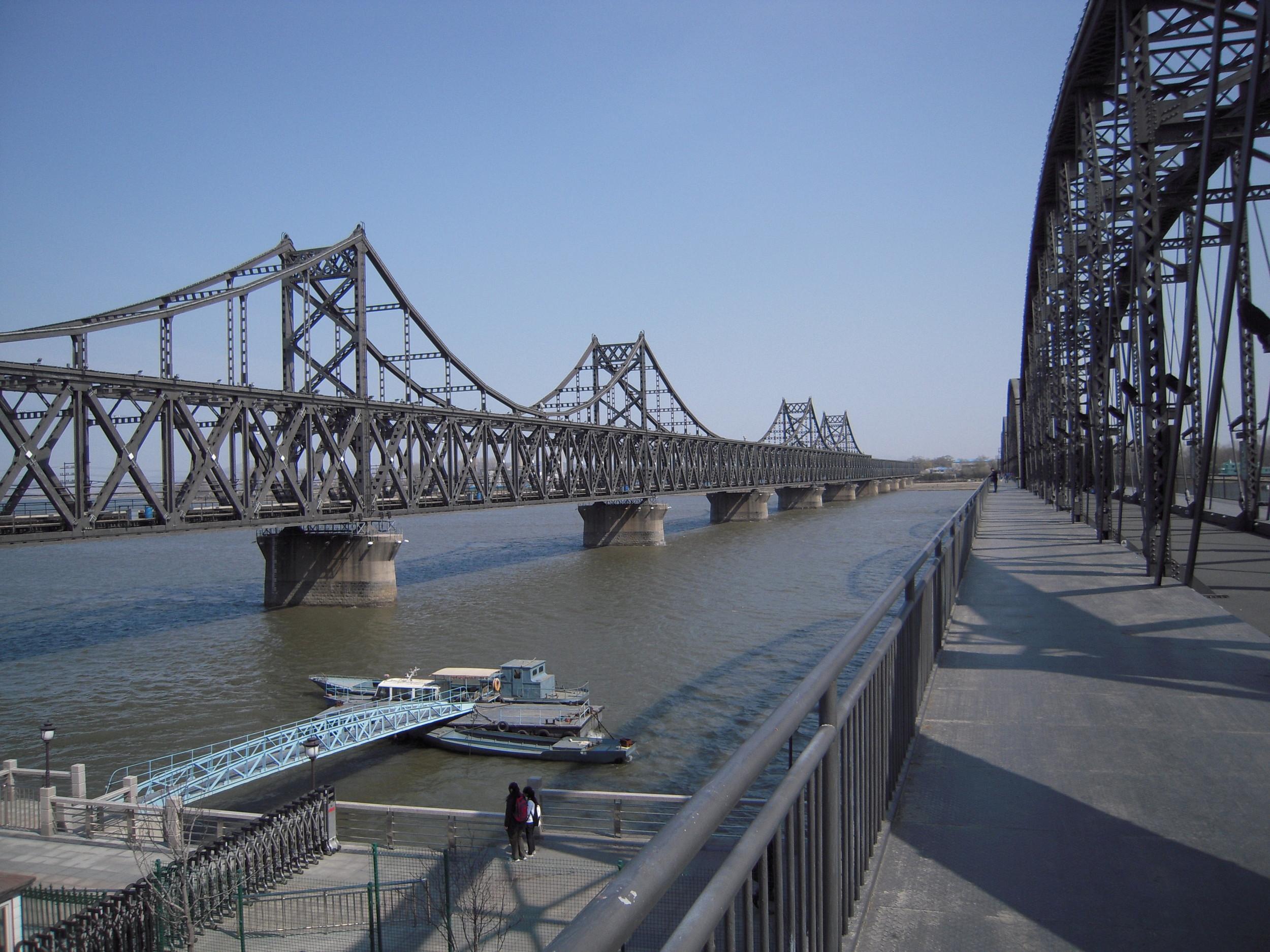 Rajajoki Kiinan ja Pohjois-Korean välillä
