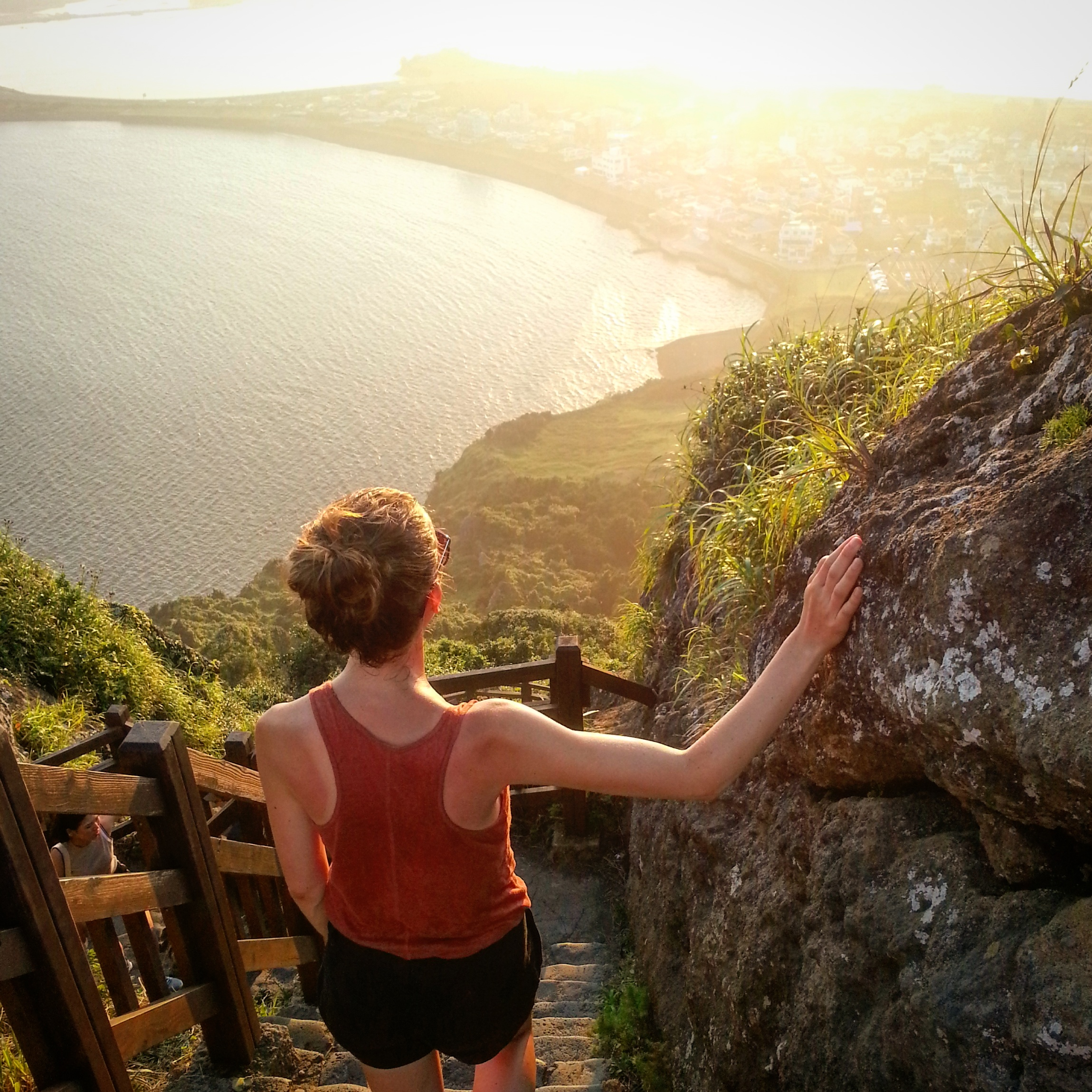 Jejun saarella auringonlaskut olivat niin upeita