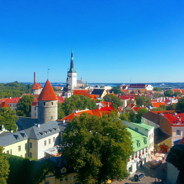 Ehdittiin Tallinnaan päiväreissulle