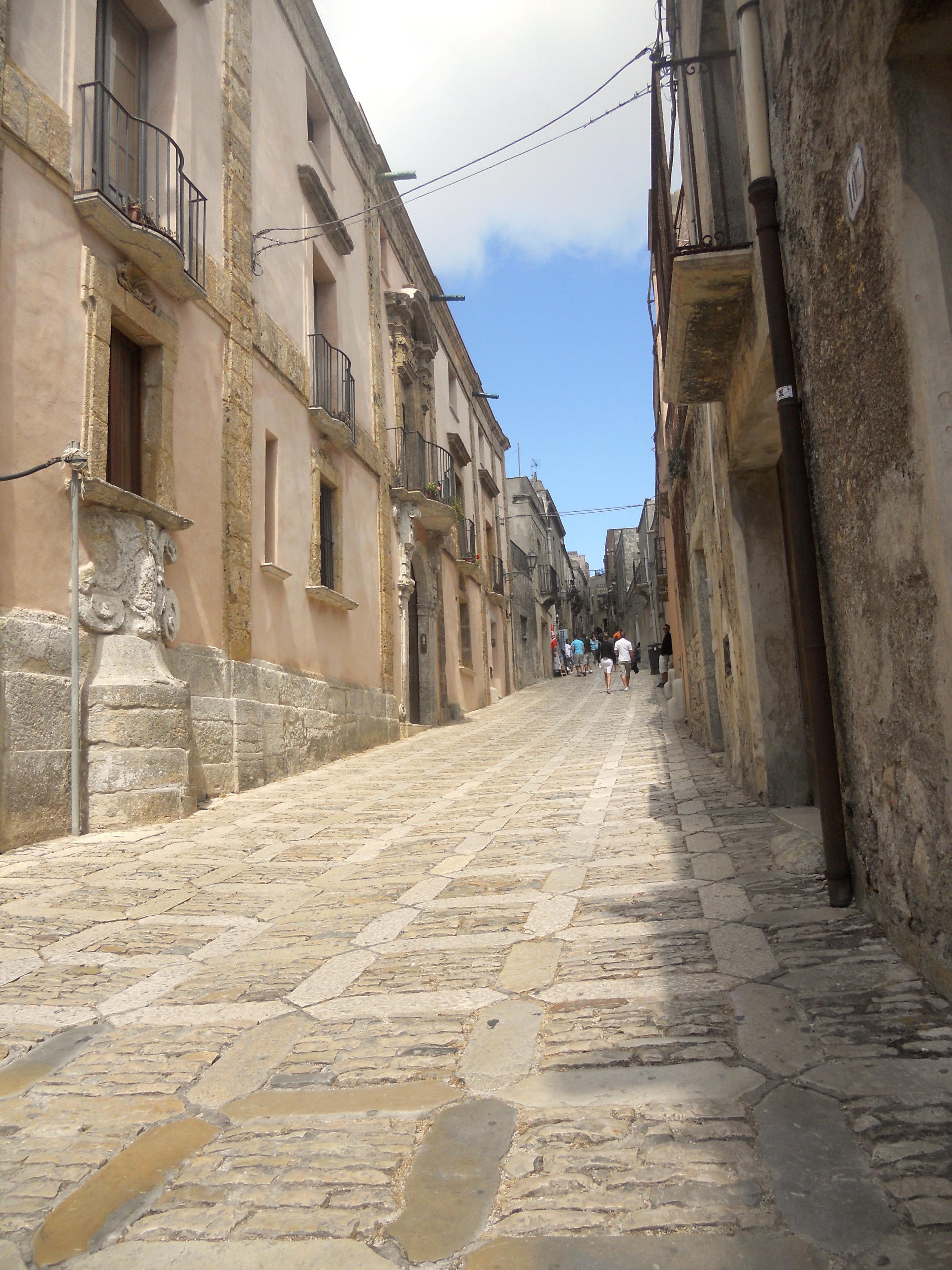 Ericen vanhakaupunki, Sisilia