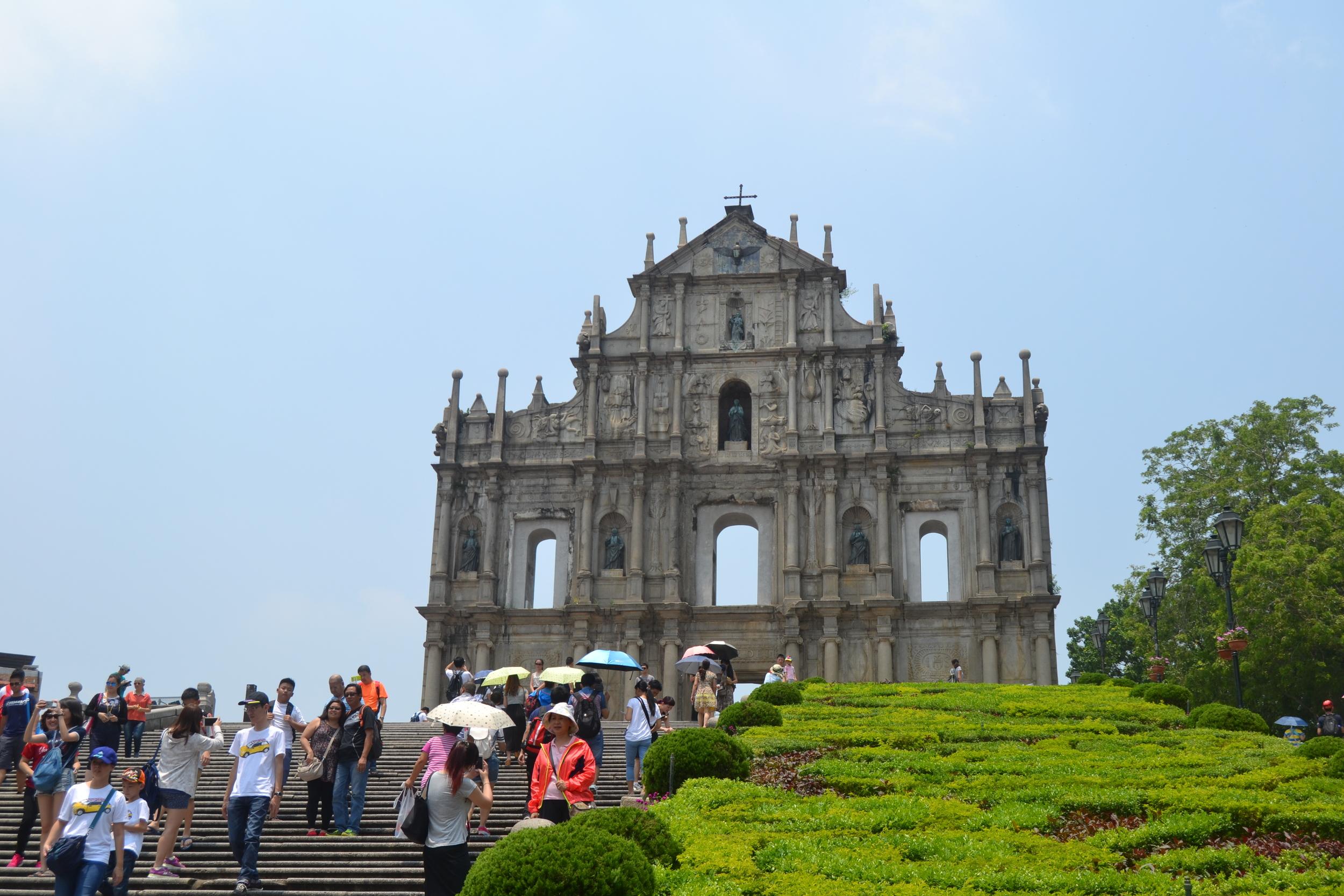 Ruins of St. Paul,Macau