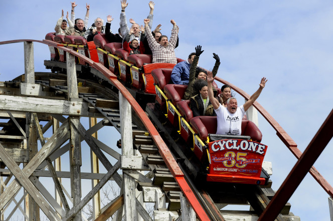 The Cyclone is a great metaphor for all we want in good story.