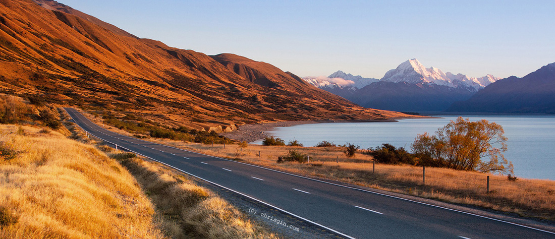 Mount Cook at Sunrise by Chris Jim