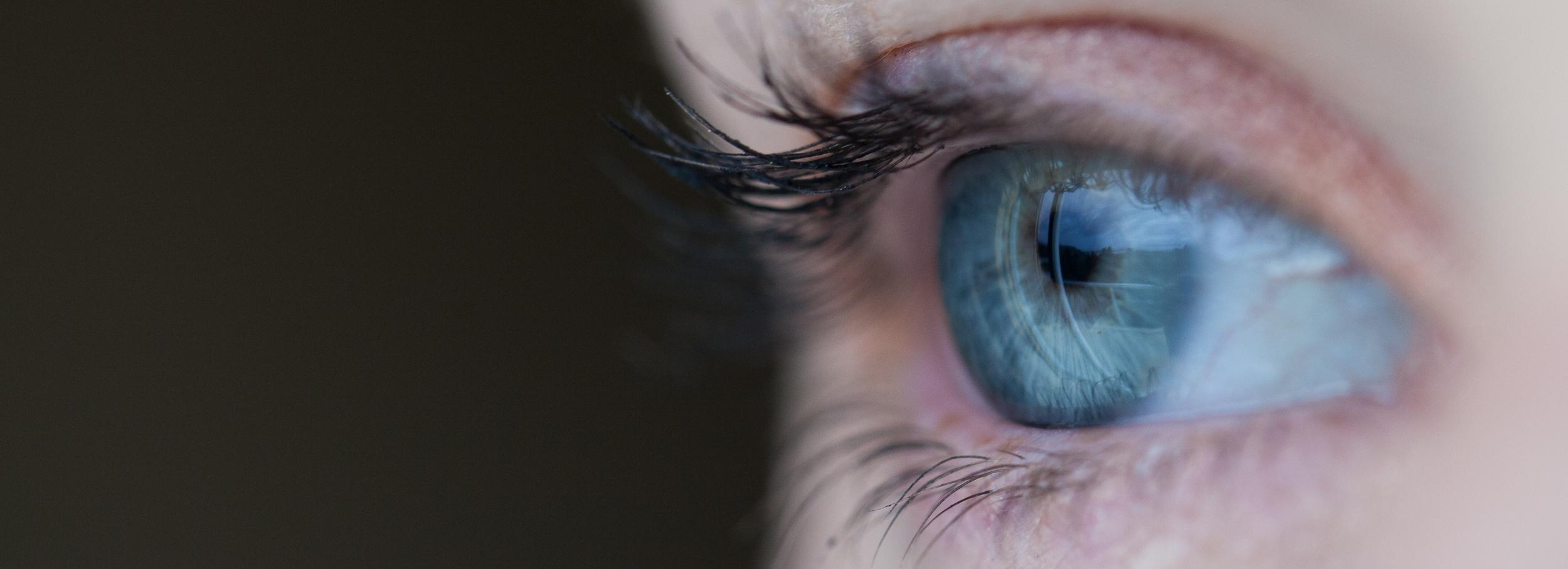 Das Auge als Mittel digitaler Kommunikation. (Foto: Sean Brown/Unsplash)