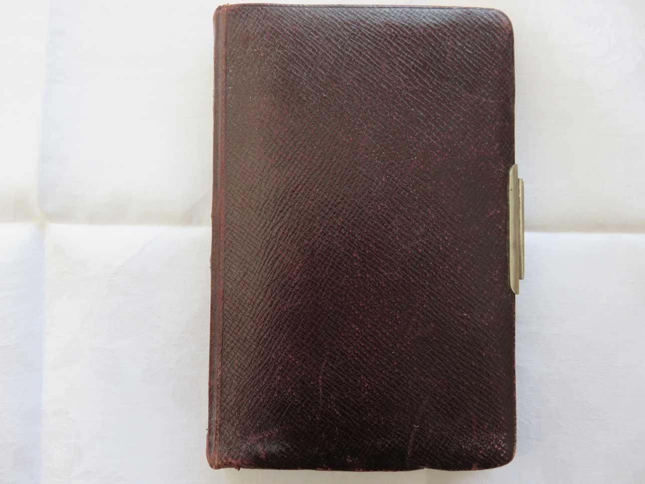 Journal intime de / Tagebuch von Hedwig Schmitz-Fürstenberg, 1912-1916 © Hedwig Schmitz-Fürstenberg