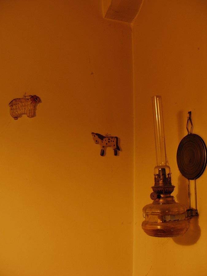 Lampe de pétrol / Petroliumlampe, Birelerhof