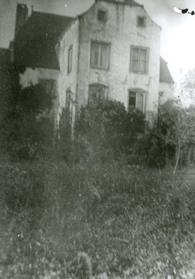 L'ARRIÈRE DE LA MAISON / Rückseite des Wohnhauses,Birelerhof, Sandweiler © photographe inconnu, droits réservés