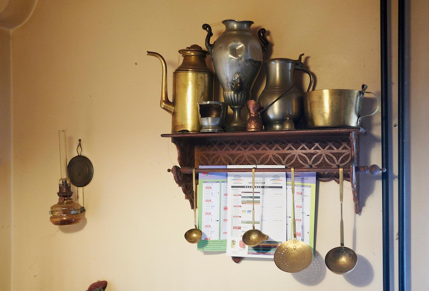 Ustensiles de cuisine / Küchengeschirr, Birelerhof