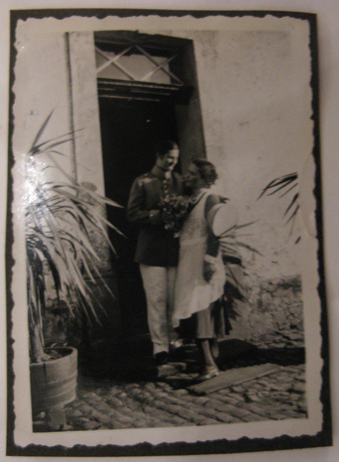 Déguisement, mariage / Verkleiden, Hochzeit, Birelerhof, Sandweiler ca. 1930 © photographe inconnu, droits réservés