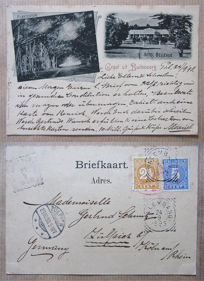 © Importation G. Hoppenstedt Batavia