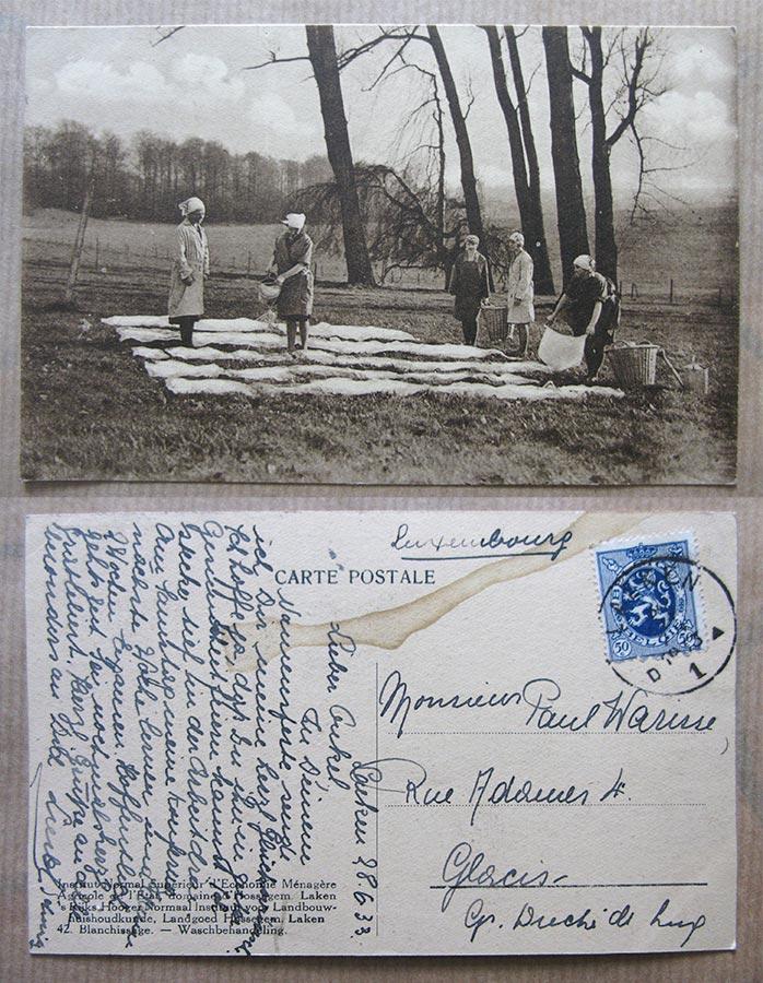 © Institut Normal Supérieur d'Economie Ménagère Agricole de l'Etat, domaine d'Hossegem, Laken