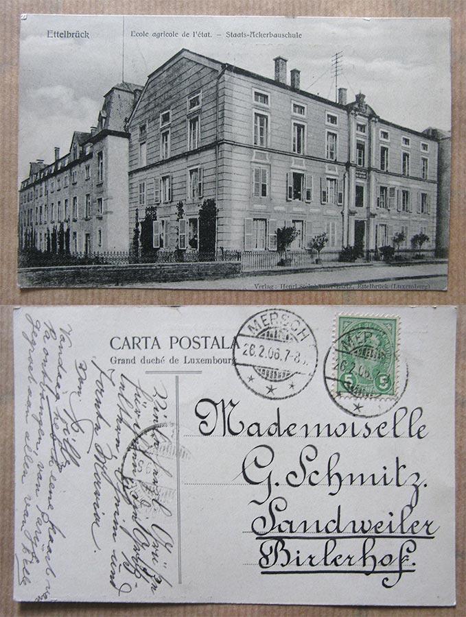 © Verlag Henri Steinhäuser-Bartz, Ettelbrück (Luxemburg)