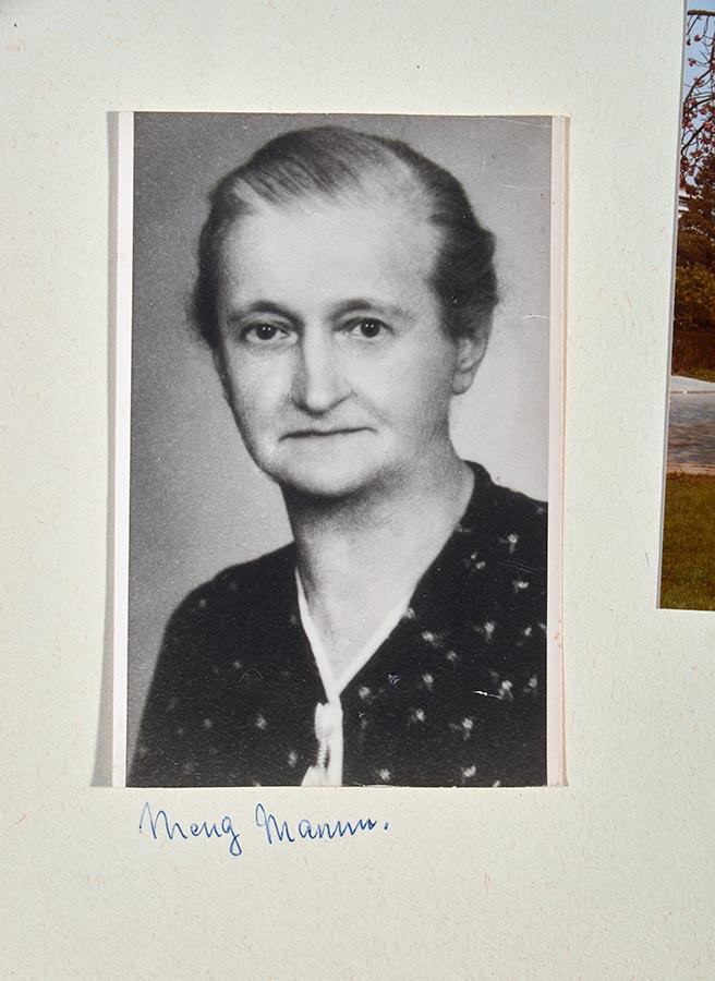 Album constitué par Elisabeth Schmitz. Ihre Mutter Hedwig / Album zusammengestellt von Elisabeth Schmitz. Sa mère Hedwig © photographe inconnu, droits réservés