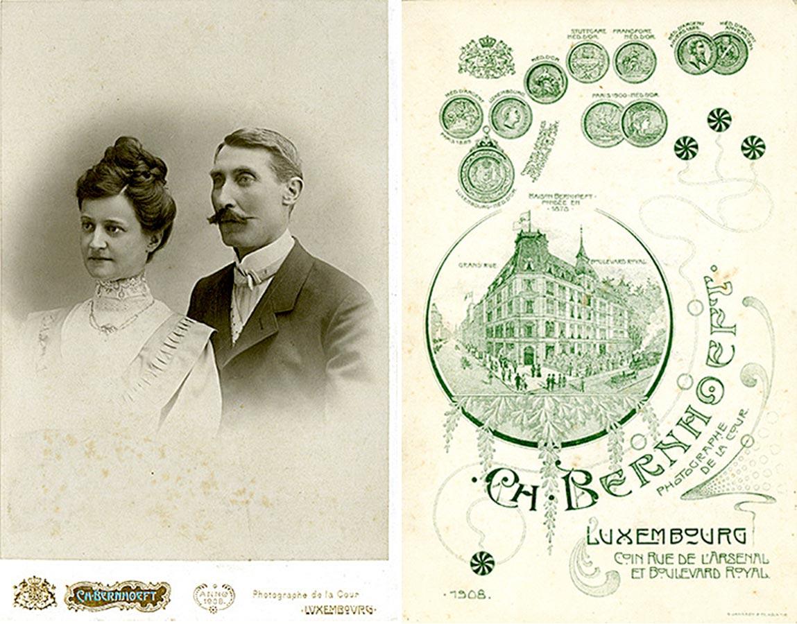 Alderich Schmitz et / und Hedwig Fürstenberg, © Charles Bernhoeft, 1908